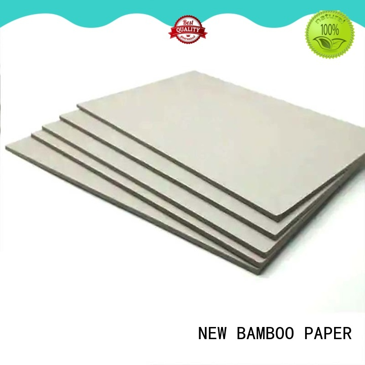 NEW BAMBOO PAPER useful grey paperboard for wholesale for photo frames