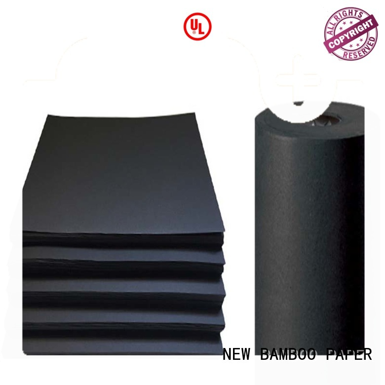 NEW BAMBOO PAPER safety black cardboard bulk production for photo album