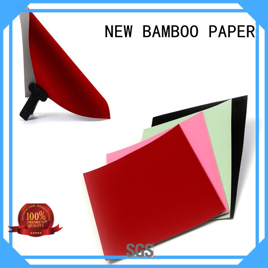 Laminated grey board flock paper sheet for cover jewelry box