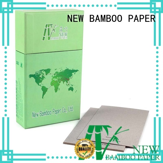NEW BAMBOO PAPER book grey board paper from manufacturer for shirt accessories