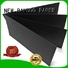 useful black paper board factory for silk printing