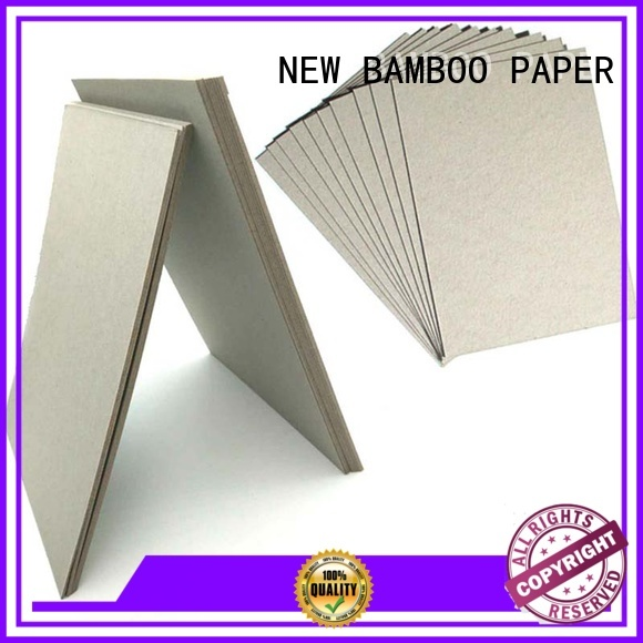 NEW BAMBOO PAPER laminated 2mm grey board free design for arch files