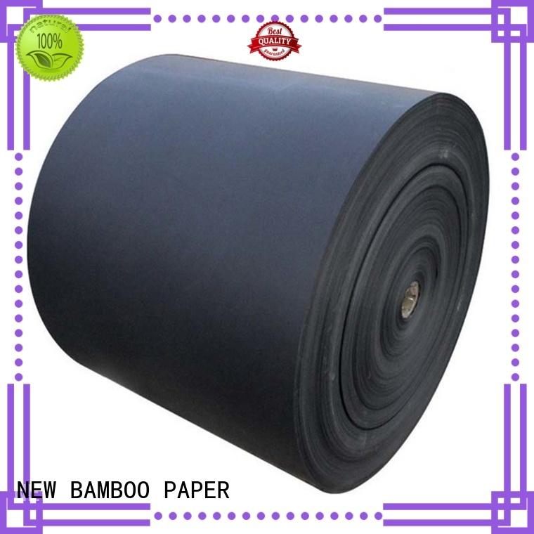 nice black paper sheet reels for booking binding