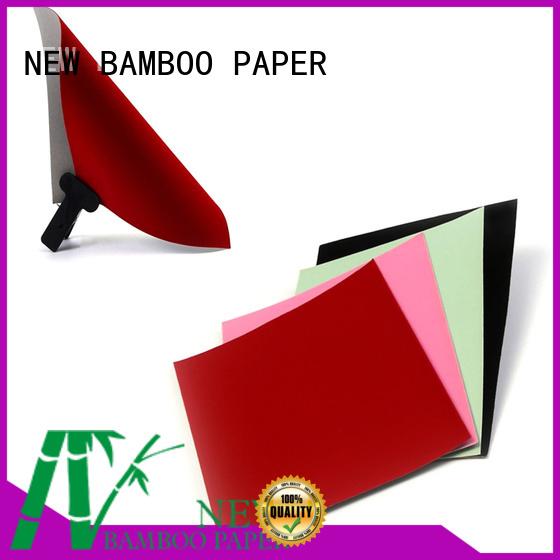 NEW BAMBOO PAPER pape velvet flocked paper wholesale for gift box binding