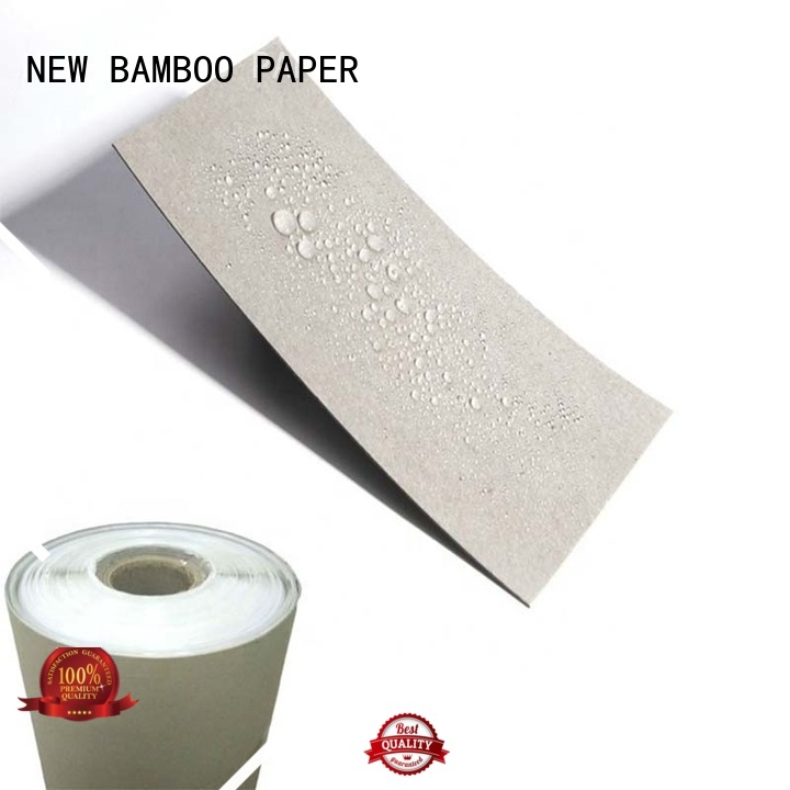 pe coated paper sheets sheets for frozen food NEW BAMBOO PAPER