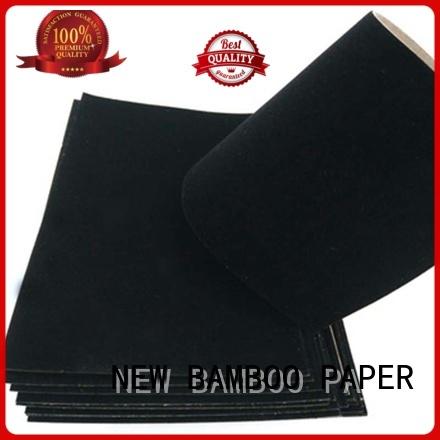 what is flocked velvet usage for gift box binding NEW BAMBOO PAPER