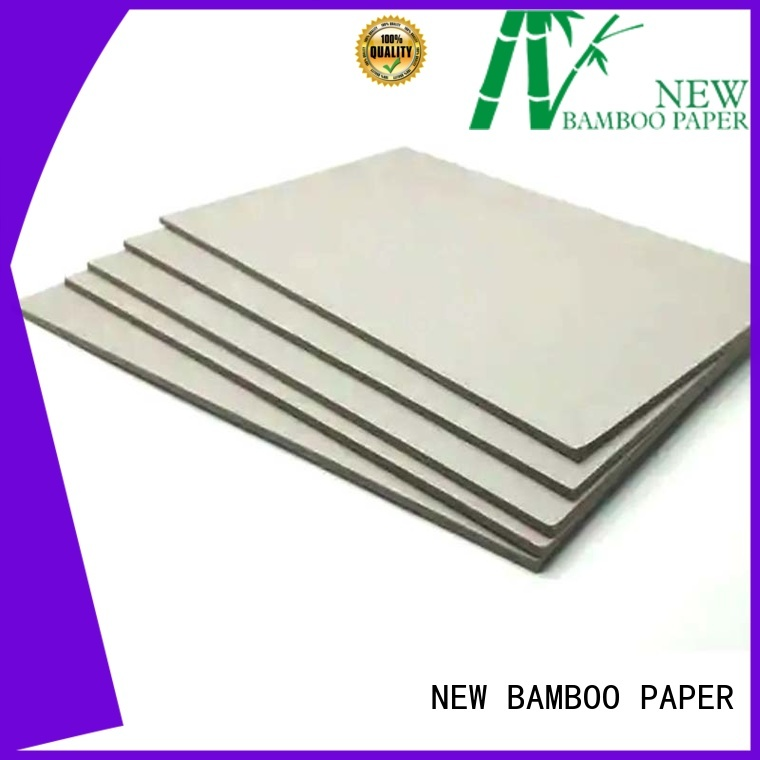 NEW BAMBOO PAPER mosquito grey board sheets bulk production for shirt accessories