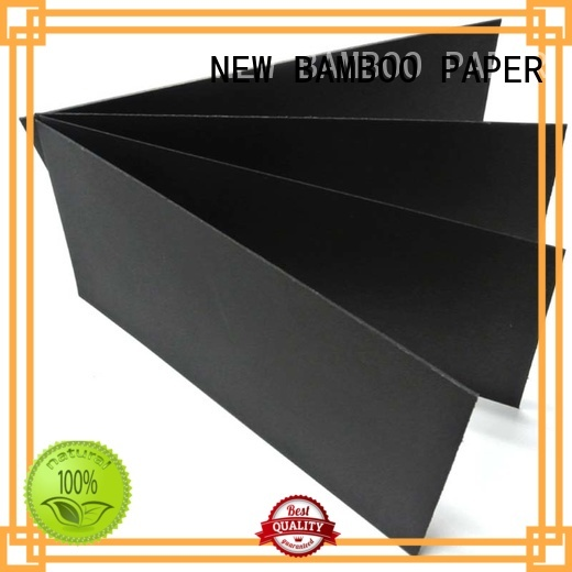 useful black paper board paper long-term-use for photo albums
