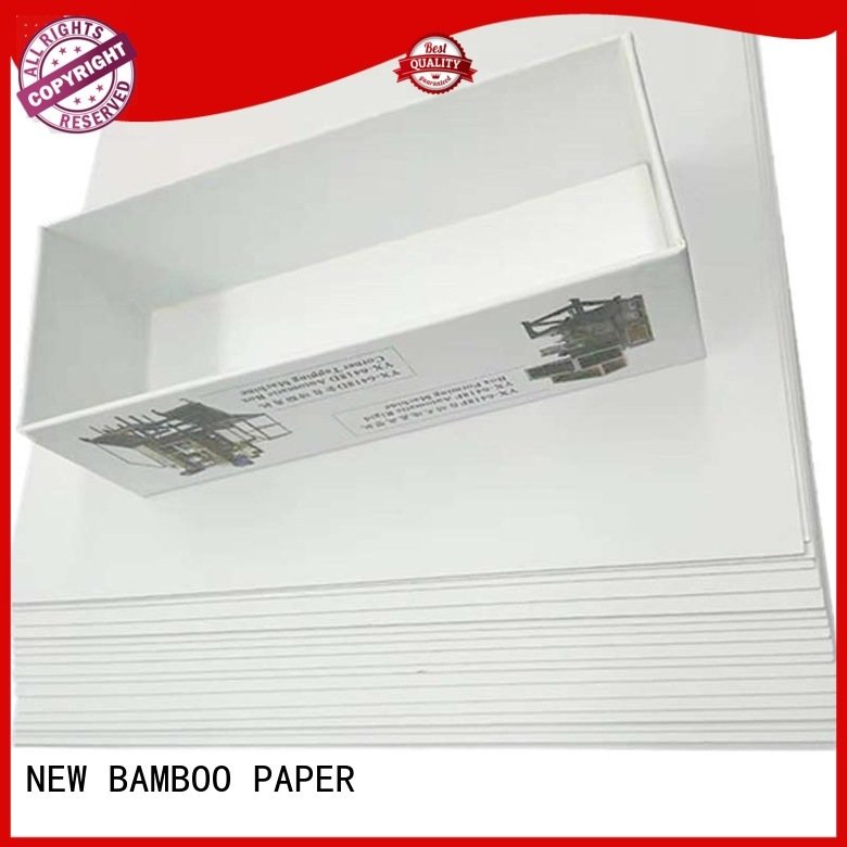 NEW BAMBOO PAPER excellent duplex board uses free design for crafts