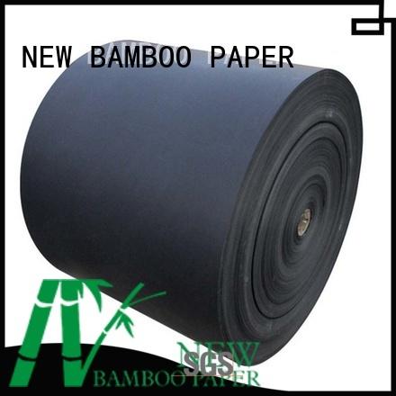 NEW BAMBOO PAPER excellent black cardboard paper bulk production for speaker gasket