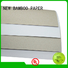 NEW BAMBOO PAPER back coated duplex board free quote for shoe boxes