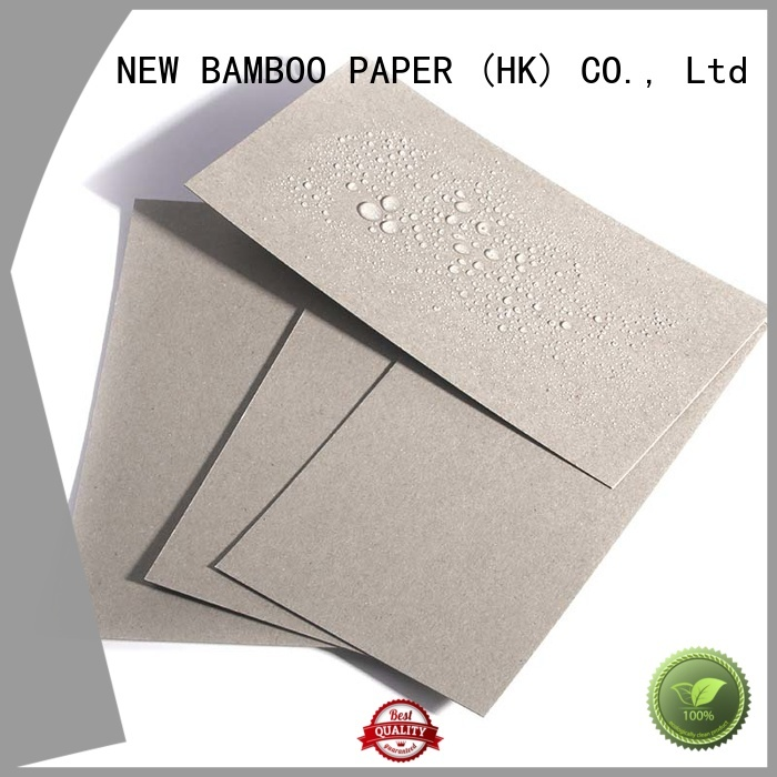 NEW BAMBOO PAPER grey pe coated paper supply for trash cans