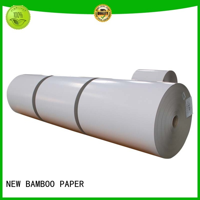 NEW BAMBOO PAPER inexpensive coated duplex board bulk production for soap boxes