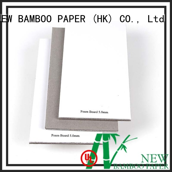 NEW BAMBOO PAPER useful 5mm foam board for book covers