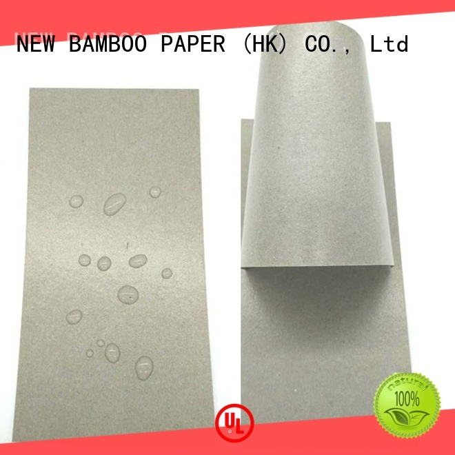 NEW BAMBOO PAPER single pe coated paper sheet free design for sheds packaging