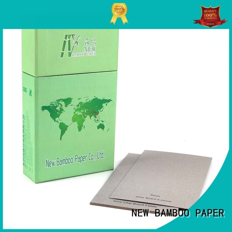 high-quality grey board for sale from manufacturer for shirt accessories NEW BAMBOO PAPER