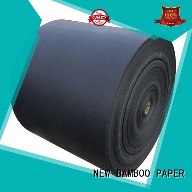 NEW BAMBOO PAPER solid black cardboard free quote for speaker gasket