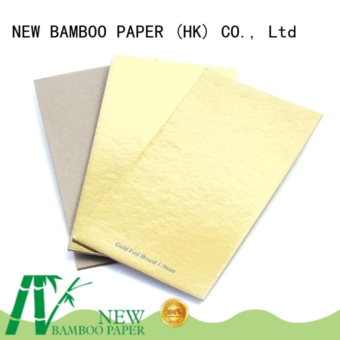 NEW BAMBOO PAPER good-package metallic silver poster board free quote for bread packaging