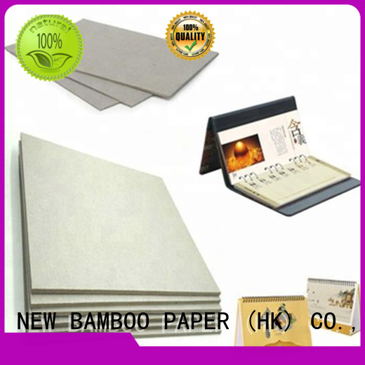 NEW BAMBOO PAPER newly carton gris 2mm factory price for packaging
