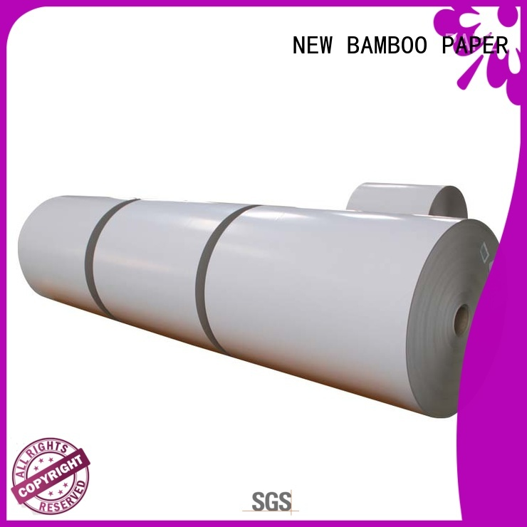 NEW BAMBOO PAPER roll duplex board uses long-term-use for gift box binding