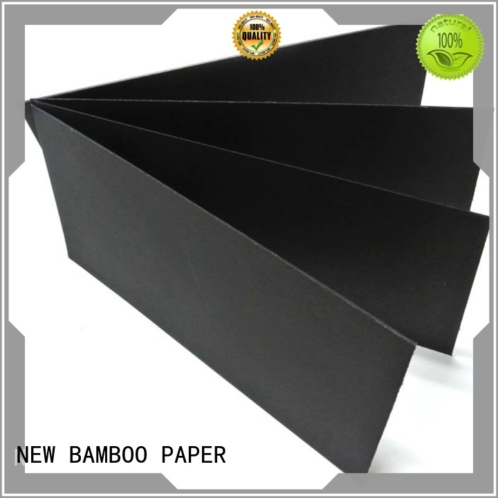 NEW BAMBOO PAPER chip black paper roll free quote for photo albums