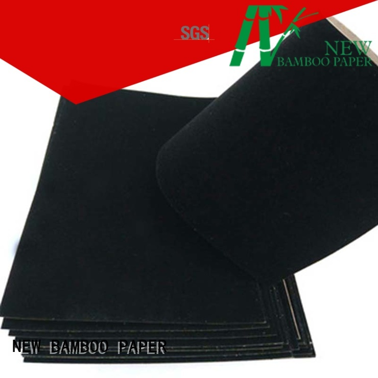 flocked flocked paper wholesale supplier NEW BAMBOO PAPER