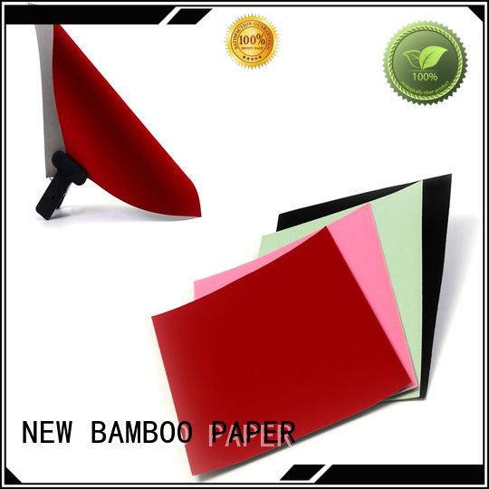 NEW BAMBOO PAPER cover flocked velvet paper long-term-use for crafts