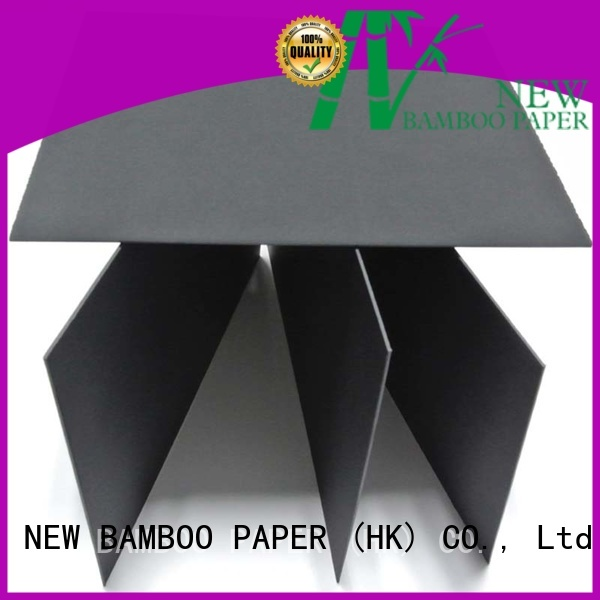 quality black paperboard pulp free design for packaging