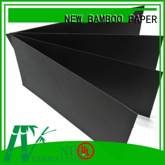 NEW BAMBOO PAPER quality black paper roll paper for paper bags