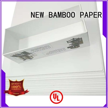 NEW BAMBOO PAPER hot-sale Grey board with white back order now for gift box binding