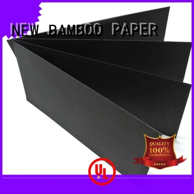 NEW BAMBOO PAPER cardboard black paper board wholesale for black boards