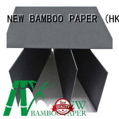 NEW BAMBOO PAPER quality black paper board free design for silk printing