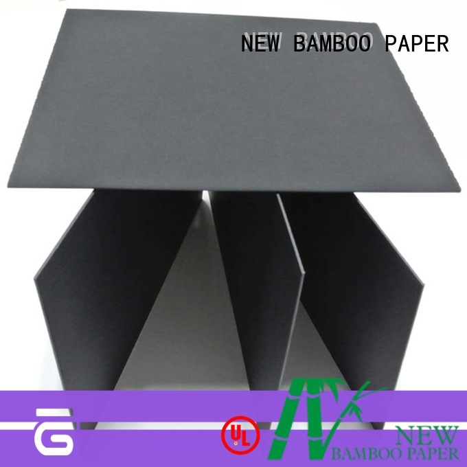 NEW BAMBOO PAPER fantastic  black paper board for wholesale for silk printing