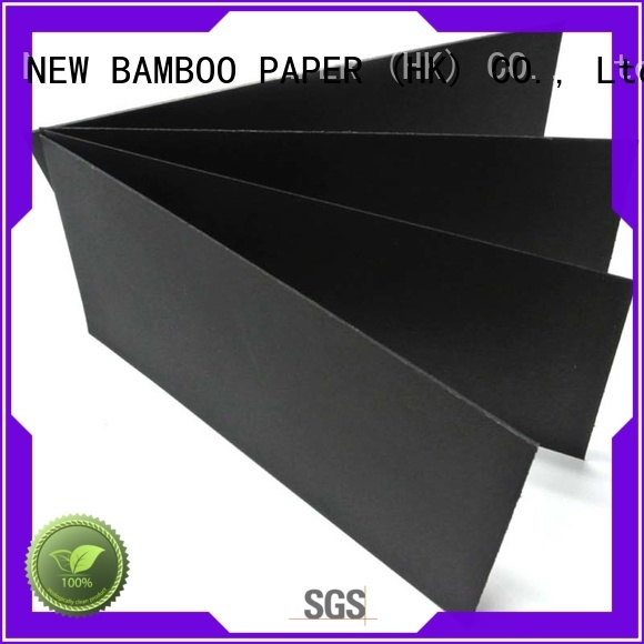 NEW BAMBOO PAPER friendly black paper roll wholesale for paper bags