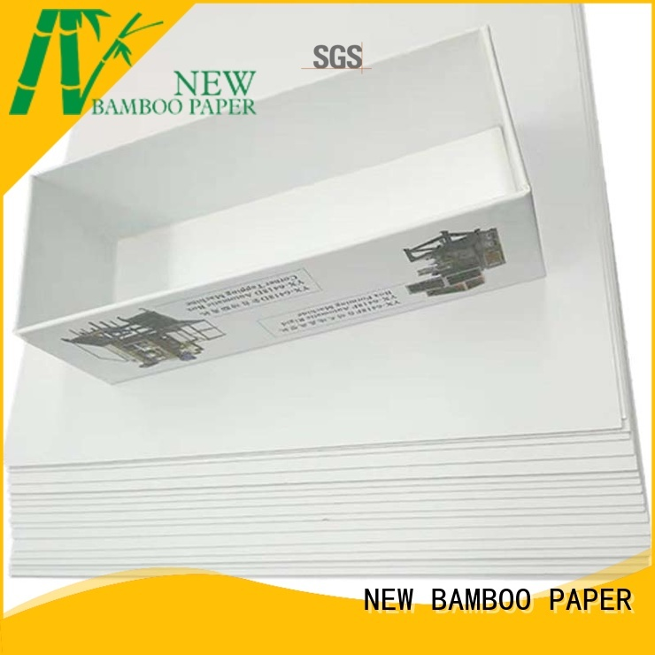 NEW BAMBOO PAPER new-arrival white duplex paper free quote for crafts