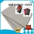 NEW BAMBOO PAPER newly grey chipboard sheets gray for stationery