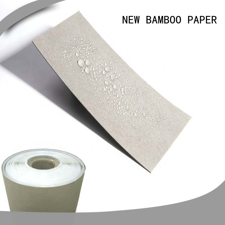 NEW BAMBOO PAPER customization coated paper roll widely-use for trash cans