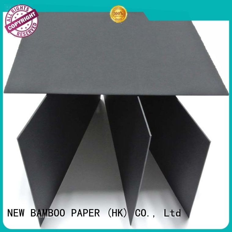 NEW BAMBOO PAPER cardboard large sheets of black paper free design for paper bags