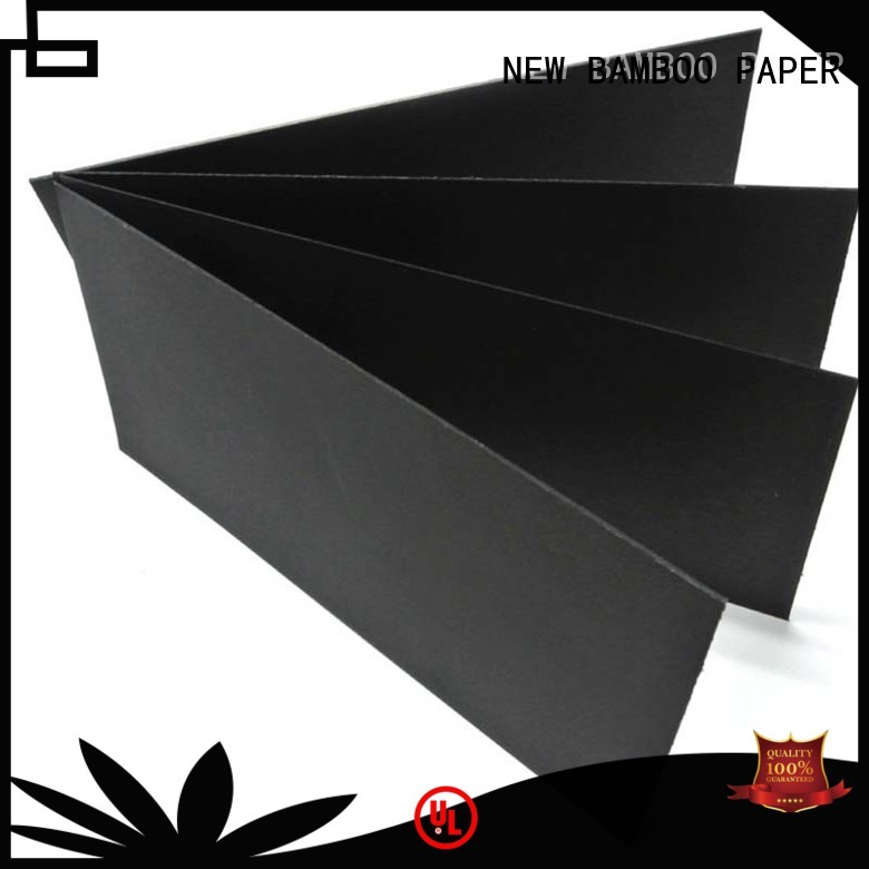 hot-sale black paper board friendly for photo albums