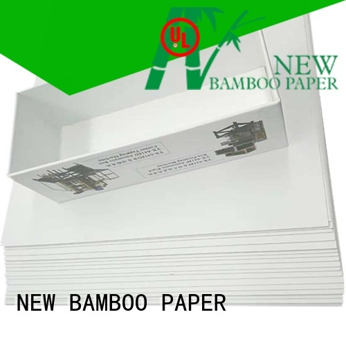 NEW BAMBOO PAPER newly Grey board with white back factory price for soap boxes