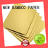 NEW BAMBOO PAPER base foil cake board for wholesale for bread packaging