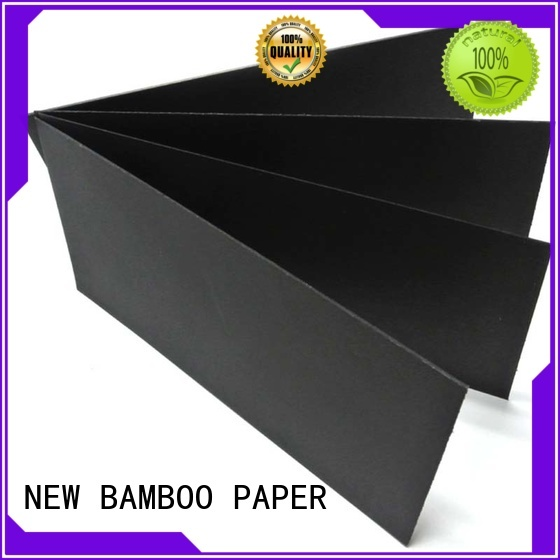 hot-sale black paper roll cardboard effectively for silk printing