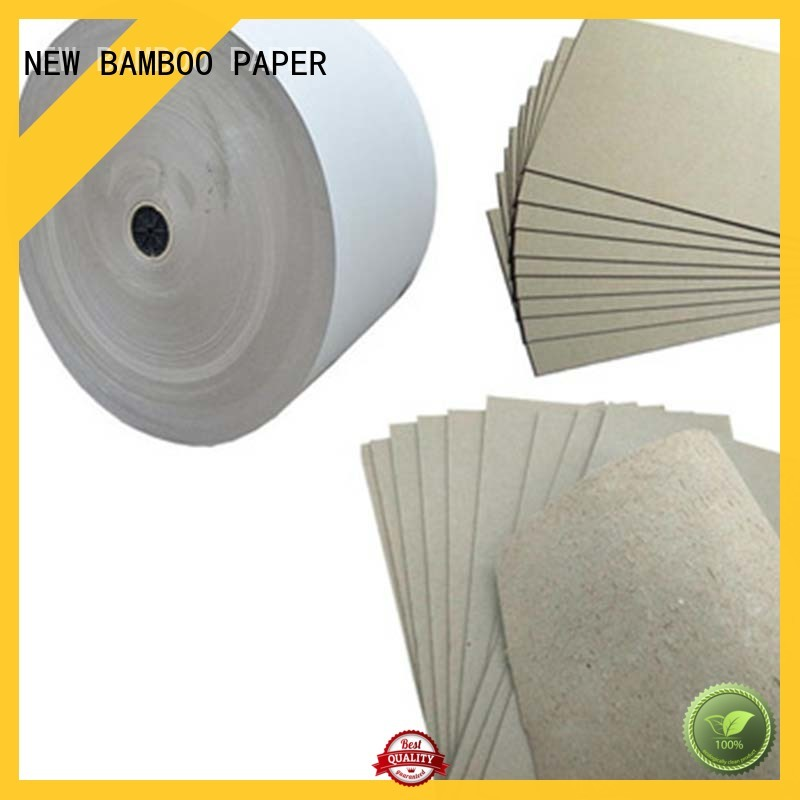 gray board paper binding for T-shirt inserts NEW BAMBOO PAPER