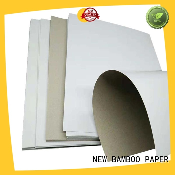 NEW BAMBOO PAPER new-arrival what is duplex board order now for box packaging