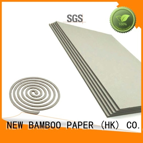 NEW BAMBOO PAPER gray grey board sheets for desk calendars