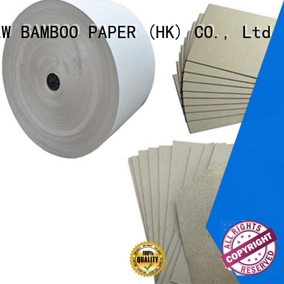 solid 2mm grey board material for wholesale for stationery