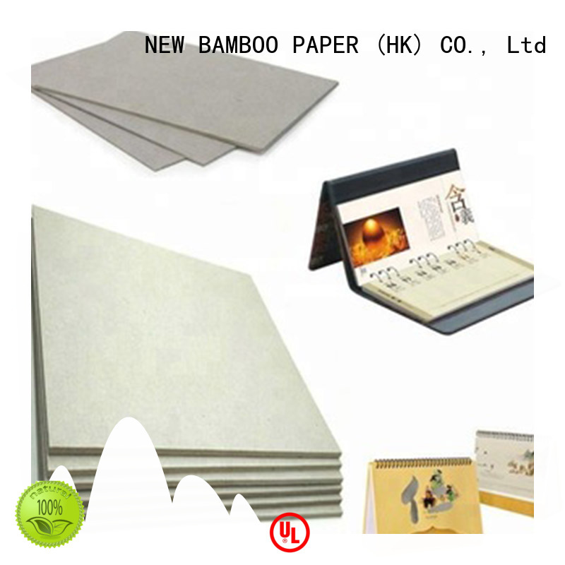 NEW BAMBOO PAPER grey grey board paper bulk production for hardcover books