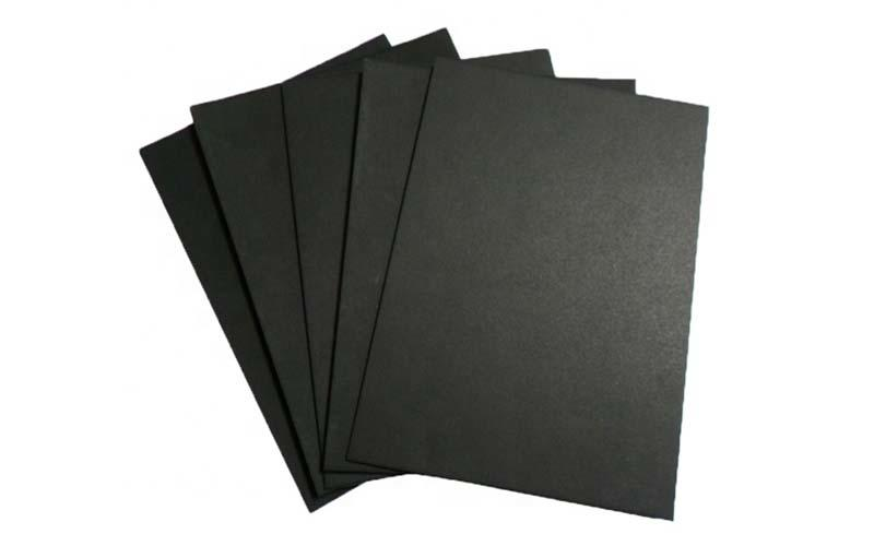 NEW BAMBOO PAPER single black paper sheet order now for gift box-3