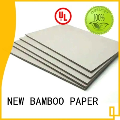 NEW BAMBOO PAPER first-rate grey board thickness for wholesale for photo frames