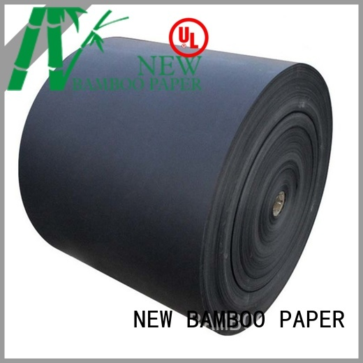 NEW BAMBOO PAPER safety black chipboard widely-use for gift box